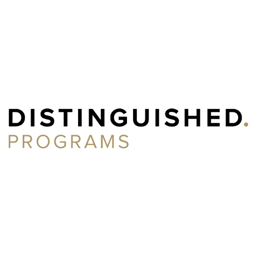 Distinguished Programs Group